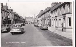AS41 Old Church Street, Athenry - RPPC, Vintage Cars, Van - Galway