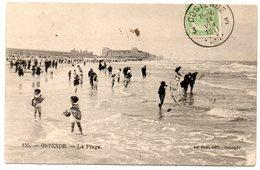 Tarjeta Postal Circulada De 1911 Ostende -la Plage. - Oostende
