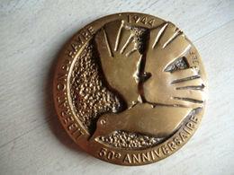 Médaille Libération Du Havre 50 E Anniversaire 1944 - 1994 - Militari
