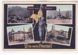 Trento-Gruss Aus Viaggiata 1916 K326 - Trento