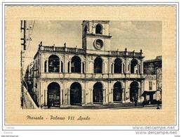 MARSALA:   PALAZZO  VII  APRILE  -  CENNO  DI  PIEGA  -  FG - Marsala