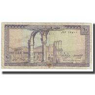Billet, Lebanon, 10 Livres, KM:63f, B - Lebanon