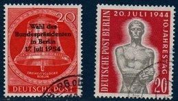 BERLIN 1954  Berlin 17/7 Et Anniversaire Du 20/7/44   N° Mi  118 Et 119 - [5] Berlin