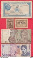 Roumanie 15 Billets 10 Dans L 'état 4 état Moyen Et 1 Usagé - Roumanie
