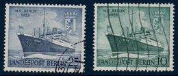 """BERLIN 1955   Navire M.S. """"Berlin""""   N° Mi  126-127 - [5] Berlin"""