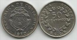 Costa Rica 50 Centimos 1970. High Grade - Costa Rica