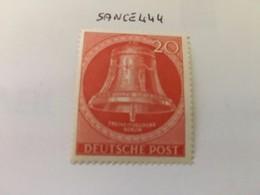 Berlin Bell Of Liberty 20p 1953 Mnh - [5] Berlin