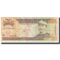 Billet, Dominican Republic, 20 Pesos Oro, 2003, KM:169c, TTB - Dominicana