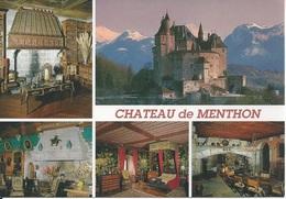 CPM  France  74 Haute Savoie Lac D'Annecy Château De Menthon Saint Bernard  Multivue - France