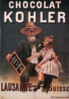 Publicité, Chocolat Kohler Lausanne Suisse (4301) 10x15 Plis - Publicité