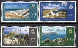 Falkland Islands 2012 Coastal Landscapes Set Of 4, MNH, SG 1222/5 - Falkland Islands