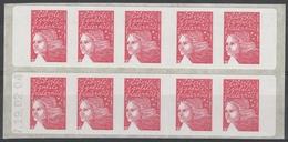 3419 C 12 LUQUET RF - SAGEM - Papier Blanchâtre - Daté 19.02.04 - Découpe à Cheval - Carnets