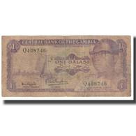 Billet, The Gambia, 1 Dalasi, KM:4f, AB+ - Gambie