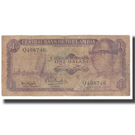 Billet, The Gambia, 1 Dalasi, KM:4f, AB+ - Gambia