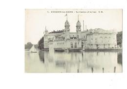 Cpa - 95 - ENGHIEN Les BAINS - Le Casino Et Le Lac - E.M. 7 - 1911 - Enghien Les Bains
