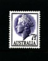AUSTRALIA - 1957  7 1/2 D.  QUEEN ELISABETH  MINT NH - 1952-65 Elizabeth II: IEmissione Prima Decimali