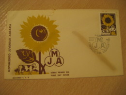 1967 Juventud Agraria Cow FDC Cancel Cover URUGUAY Agriculture - Agriculture