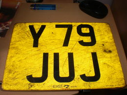 Number Plates Exel - Number Plates