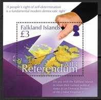 Falkland Islands 2013 Status Referendum MS, MNH, SG 1251 - Falkland