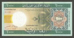 MAURITANIA - 2.000 Ouguiya 28.11.2004 UNC P.14 A - Mauritania
