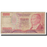 Billet, Turquie, 20,000 Lira, 1970, 1970-01-14, KM:201, B - Turquie