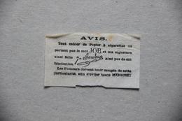 Avis Papier à Cigarettes JOB - Documents