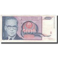Billet, Yougoslavie, 5000 Dinara, 1991, KM:111, TB - Yougoslavie