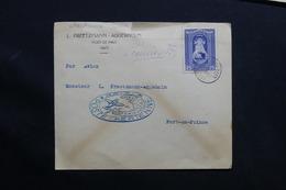 HAÏTI - Enveloppe 1 Er Vol Intérieur En 1943 De Port De Paix Pour Port Au Prince - L 28515 - Haiti