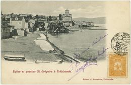 TRABZON  Trebizonde - Eglise  Quartier St Gregoire - Turkey - Turquie - Türkei - Turkey