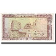 Billet, Lebanon, 25 Livres, KM:64c, TTB - Lebanon