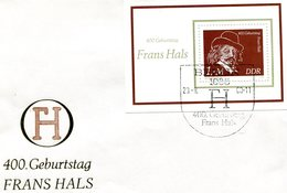 GERMANY D.D.R. 1980 FDC FRANS HALS.BARGAIN.!! - FDC: Briefe