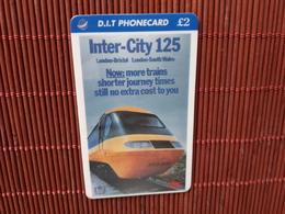 Phonecard Train  2 Scans Rare - Trains