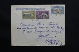 TRINITE & TOBAGO - Enveloppe Pour La Belgique En 1957 , Affranchissement Plaisant - L 28519 - Trinidad & Tobago (...-1961)
