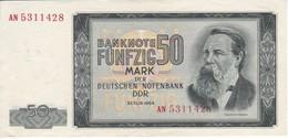 BILLETE DE ALEMANIA DE 50 MARK DEL AÑO 1964  EN CALIDAD EBC (XF)  (BANKNOTE) - 50 Deutsche Mark