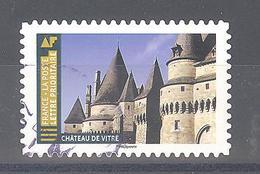 France Autoadhésif Oblitéré (Histoire De Styles Architecture - Château De Vitré) (cachet Rond) - France