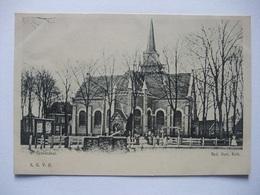 M77 Ansichtkaart 's-Gravendeel - Ned. Herv. Kerk - Niederlande