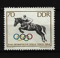 DDR - Mi-Nr. 1038 Sperrwert Olympische Sommerspiele Tokio 1964 Postfrisch - Neufs