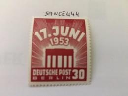 Berlin Revolt Of June 30p Mnh 1953 - [5] Berlin