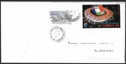 FRANCE  1998 -  VIGNETTE  Stade De France  -  Oblitérée    Ayant Servi à Affranchir! - Commemorative Labels