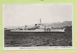 VOLTA Contre-Torpilleur 5-11-1940 / Photo Marius Bar, Toulon / Marine - Bateaux - Guerre - Militaire - Guerre