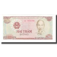 Billet, Viet Nam, 200 D<ox>ng, KM:100a, NEUF - Vietnam