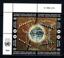 UNO New York 1994 Yv. 659/62**,  Mi 671/74** MNH - Neufs