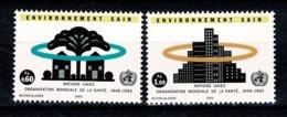 VN Genève 1993 Yv. 247/48**, Mi 231/32** MNH - Office De Genève