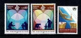 VN Genève 1994 Yv. 263/64**, 269**, Mi 243/44**, 249** MNH - Office De Genève