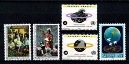 VN Vienne/Wenen 1993 Yv. 157/58**, 163/64**, 165**, Mi 141/42**, 147/48**, 149** MNH - Centre International De Vienne