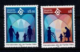 VN Vienne/Wenen 1994 Yv. 180/81**, Mi 160/61** MNH - Centre International De Vienne
