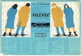 Grand Buvard. Mode. Chapeau Valensy, Chapeau Captain Carlsen. - Textile & Vestimentaire