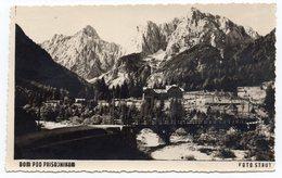1952 YUGOSLAVIA, SLOVENIA, PRISOJNIK MOUNTAIN , ILLUSTRATED POSTCARD,  USED - Yugoslavia