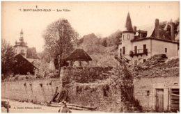 21 MONT-SAINT-JEAN - Les Villas - Autres Communes