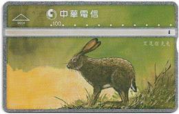 Taiwan - Chunghwa Telecom - LG - Rabbits - Rabbit 3/5 - 902B - 1999, 100U, Used - Taiwán (Formosa)
